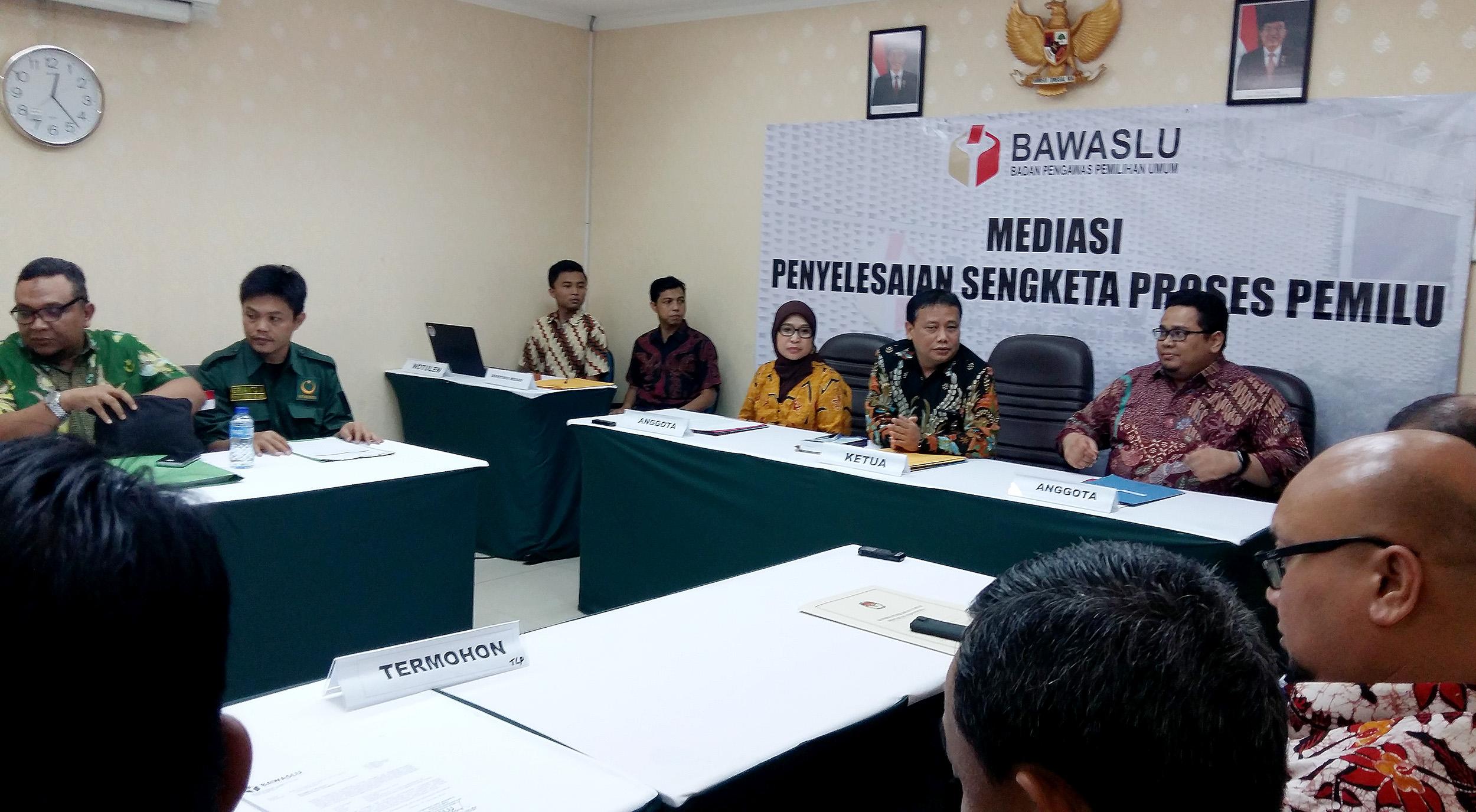 Mediasi Tak Capai Kesepakatan Bawaslu Akan Memutus Seadil Adilnya Badan Pengawas Pemilihan Umum Republik Indonesia