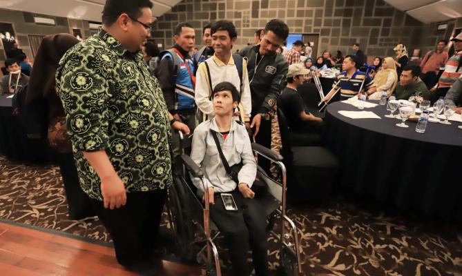 Sosialisasi Bawaslu di Cianjur, Mengawasi Netralitas ASN dan Akses Bagi Difabel