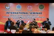 Seminar International - Demokrasi, Pemilu dan Pengawasan Pemilu