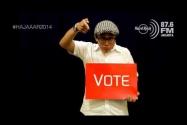 VOTE FOR A CHANGE Bawaslu & Hard Rock FM Versi A