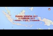 Peta Pilkada Serentak 2017