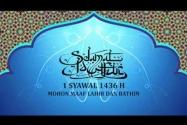 Segenap Pimpinan dan Staf Sekretariat Jenderal Badan Pengawas Pemilihan Umum Republik Indonesia mengucapkan Selamat Hari Raya Idul Fitri 1 Syawal 1436 H. Mohon Maaf Lahir dan Bathin.