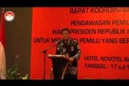 Rapat koordinasi stakeholders pemilu presiden dan wakil presiden tahun 2014 di Kalimantan Selatan